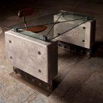 """""""Bunker Grade Concrete & Steel Desk"""""""