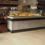 Polished Concrete worktops and countertop installations at The Lodge Space