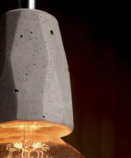"""Exposed bulb pendant light fitting"" ""Exposed bulb lamp"" ""by Brutal Design"""